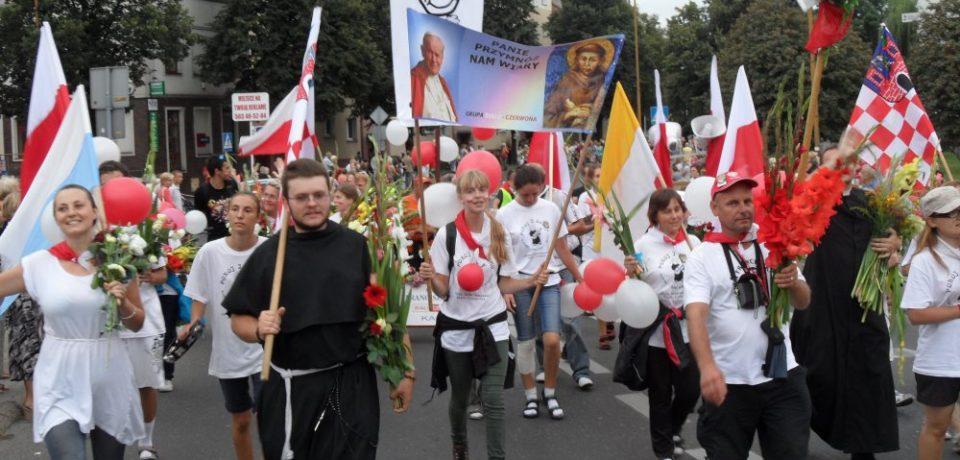 Klerycy na pielgrzymce