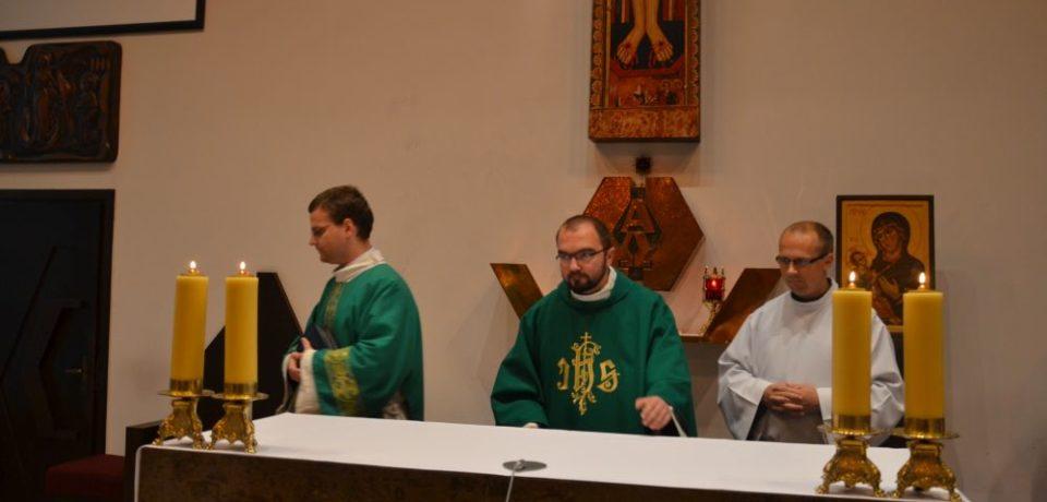 Prymicje w naszej kaplicy