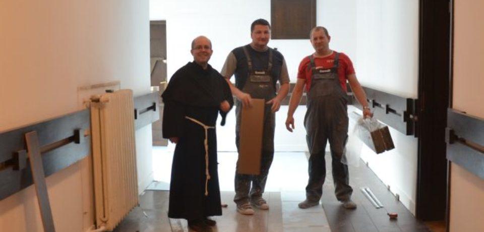 Prace remontowe w seminarium