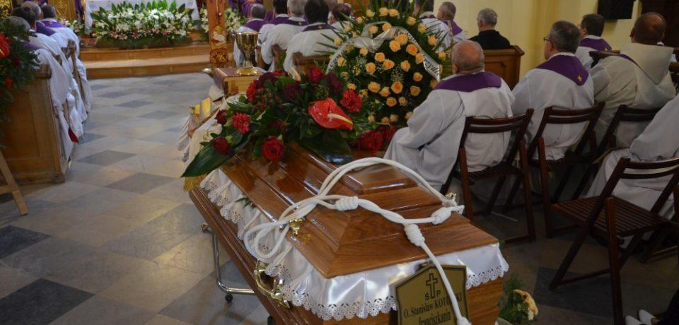 Pogrzeb o. Stanisława