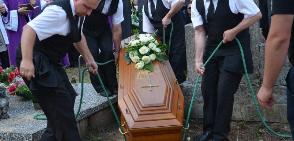 Pogrzeb br. Mariusza Zielińskiego