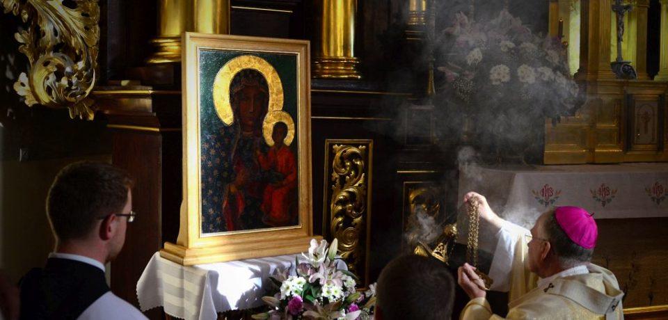 Obraz Matki Bożej Jasnogórskiej