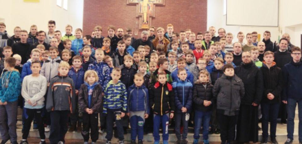Zjazd ministrantów w Ostródzie