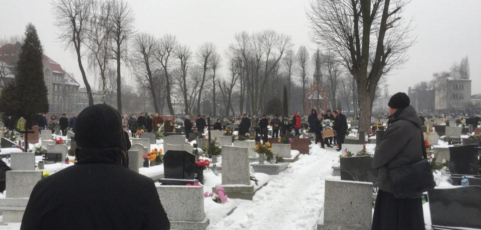 Pogrzeb siostry Ojca Rektora