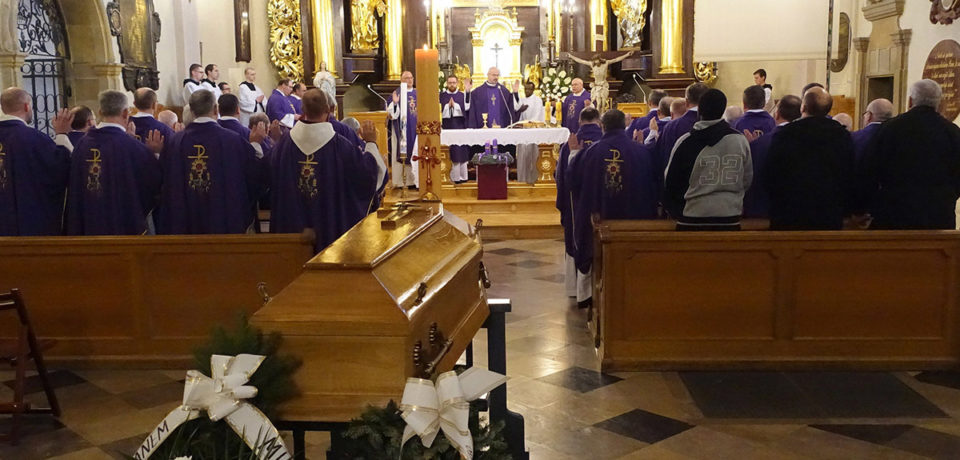 Pogrzeb br. Dominika
