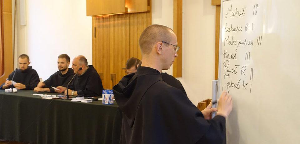 Wybory nowego dziekana seminarium