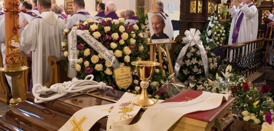 Pogrzeb o. Leona Dyczewskiego