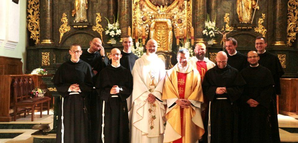Pierwsze śluby zakonne